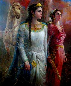 prominent Iranian princess GERDOYE