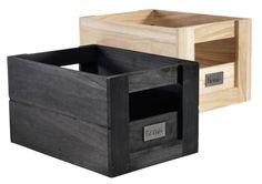 Puulaatikko ASLAK L25xP35xK20cm lajit. | JYSK