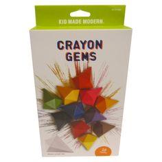 Kid Made Modern 12ct Crayon Gems