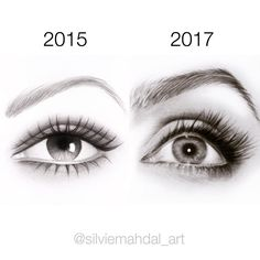 """""""Mi piace"""": 30.6 mila, commenti: 182 - Silvie Mahdal (@silviemahdal_art) su Instagram: """"Today I found an older drawing...⌛️ Since I started to draw again I try to practice every single…"""""""
