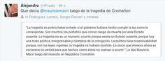 Piedra OnLine: Que decía Macri después de la Tragedia de Cromañon...