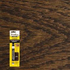 Dark Walnut Wood Stain Furniture & Floor Touch-Up Marker - The Home Depot Interior Wood Stain, Dark Wood Furniture, Stain Furniture, Red Oak Stain, Dark Walnut Stain, Walnut Wood, Staining Cabinets, Cabinet Stain, Varathane Stain