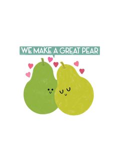 We+Make+A+Great+Pear+Card+by+LWalkerIllustration+on+Etsy