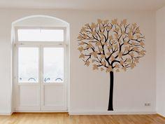 Der Große Wandtattoo Baum Wartet In Vielen Farbkombinationen Und Größen Auf  Dich.