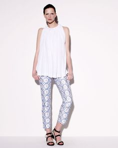 These DVF Pants.