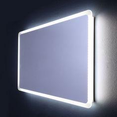 Zrcadlo podsvícené do koupelny s led 120x60 model Dallas