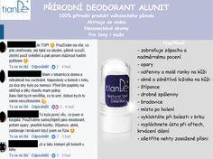 Nejlepší deodorant na světě, dokáže více, než si dokážete představit.