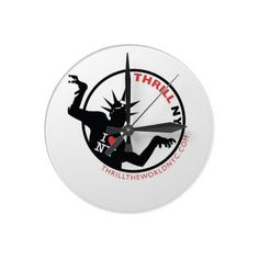 "Michael Jackson inspired clock designed by ""Thrill The World NYC."""
