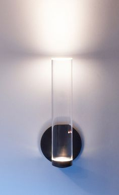 POWDER - A different approach than the industrial lights previously pinned; these are incredible and recently released. Not sure of size [would need to check]. But beautiful. 3M / Vessel sconce, LED