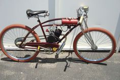 Bikes With Motors Gas Motorized Bicycle Bike Vtg Gas