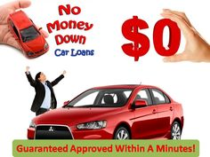 Searching for no money down auto loans with bad credit? Learn how to get car loan with zero down payment and bad credit with free easy and hassle free application process.