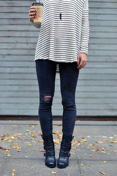 jeans e caffè