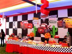 Resultado de imagen para decoracion cumpleaños cars 2