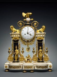 ART OF THE DAY: Clock, c. 1780-1790 France, 18th century. See it on view at the Cleveland Museum of Art!