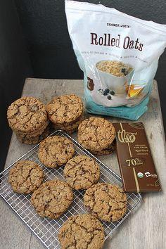 Trader Joe's Flourless Chocolate Pecan Oatmeal Cookies