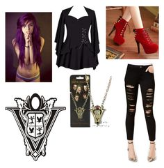 """""""Volturi member"""" by skullypooch on Polyvore featuring Joe's Jeans"""
