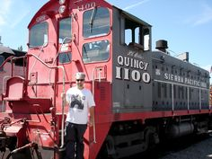 Portola train museum. Got to drive this yard switcher. It was a oldie, but still fun none the less.
