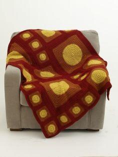 Copertine ad Uncinetto: una coperta con i cerchi !