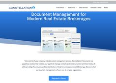 Take control of your company-wide document management process. Constellation1 Documents is a software that enables your agents to manage contacts and vendors, monitor and track tasks, all while providing the accuracy and standardization critical to running a successful brokerage. Discover what our document management software can do for your organization. Lead Management, Real Estate Office, Front Office, Accounting Software, Enabling, Constellations, Bar Chart, Monitor, Track