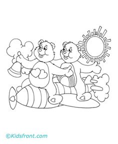 It's just an image of Peaceful Lname Bear Coloring Page