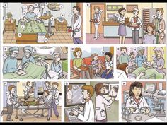 Hospital workers and rooms video English lesson