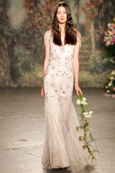 The Best in Spring Bridal Gowns  - ELLE.com - Jenny Packham 2015 (=)