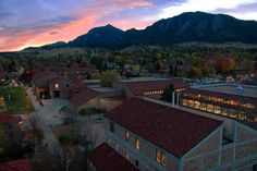 The University of Colorado at Boulder still feels magical to me twenty years after I earned my bachelor's degree.