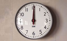 Schoolhouse Electric & Supply Co. partnered with IBM to exclusively produce their iconic 1960s standard issue wall clock. A perfect reproduction of the origional...
