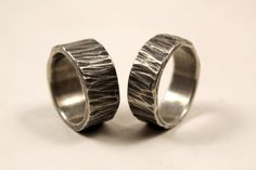 Drill Bit Sterling Silver Earrings Handmade Celtic Viking Style Fashion Women Ladies Men Man Unisex Oxidized contemporary jewelry
