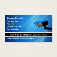 The 191 best security business cards images on pinterest business security system business cards reheart Image collections