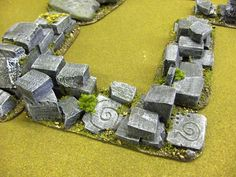 Gallery showing examples of Temple and Ruins models and scenery