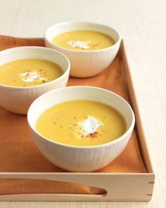 Butternut Squash Bisque... want to try out some new fall recipes on Martha's!