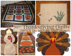 Bring a cozy warmth to your Thanksgiving feast with our collection of 75 Thanksgiving Crafts: Fantastic Fall Quilts and Turkey Appliques. The earthy colors and handmade charm of these quilt and applique projects will give you that fall feeling and help you celebrate the harvest in style.