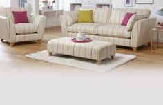4 Seater Sofa Bude Stripe | DFS