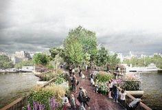 Heatherwick's Garden Bridge To Represent London's Horticultural History