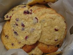 must try. Cranberry white chocolate