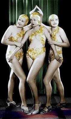 Chorus Girls - 1933 - Footlight Parade - Director:  Lloyd Bacon - Warner Bros