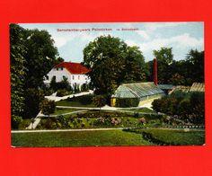 um 1910 Bernsteinbergwerk PALMNICKEN – Im Schloßpark / Ostpreussen Bernstein