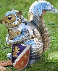 armored squirrel. YES.