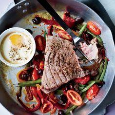 Gwyneth Paltrow's Hot Niçoise Salad // More Main Course Salads: http://www.foodandwine.com/slideshows/main-course-salads #foodandwine