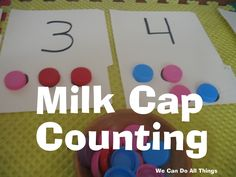 we can do all things- milk cap counting