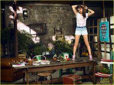 Selena Gomez Takes Selfies For Adidas NEO Summer Collection Campaign! | selena gomez adidas neo summer campaign 02 - Photo