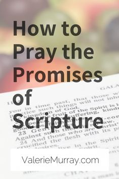Learn how to pray the promises of Scripture. It's okay if you feel like you don't know how to pray. Tell God what's on your heart and claim his promises! Christian Marriage, Christian Faith, Christian Quotes, Christian Living, Christian Women, Christian Decor, Prayer Scriptures, Bible Verses, Bible Prayers