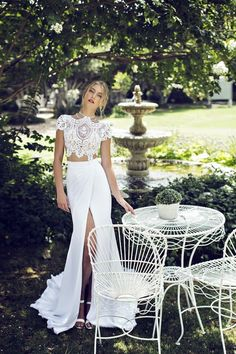 Glowlicious Me: Provence Wedding Dresses Collection By Riki Dalal  Beautiful <3