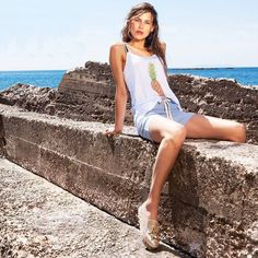 063b50ffbb Glam up your casual look by Le Vertige with  MIGATO NY054 gold espadrille!  Gold