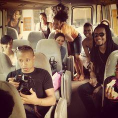 All set for Day 1 of the #KajResort Shoot with @kajdesignsLIVE @marteikorley & @LONZtheMUA