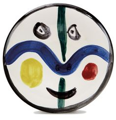 Lot 116 | Visage (Face) No. 0 | Pablo Picasso | December 11, 2011 Auction | Los Angeles Modern Auctions (LAMA)