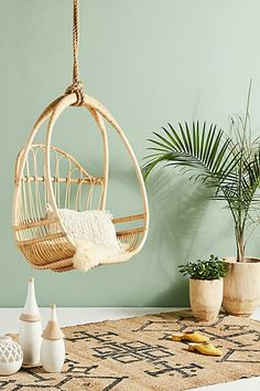I really want one of these!!! #boho #hangingchair #chair #ad #roomideas #decor #shopstyle
