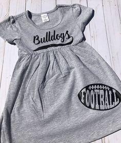 $20.00 Bulldogs Football Toddler Dress  Georgia Bulldogs Infant