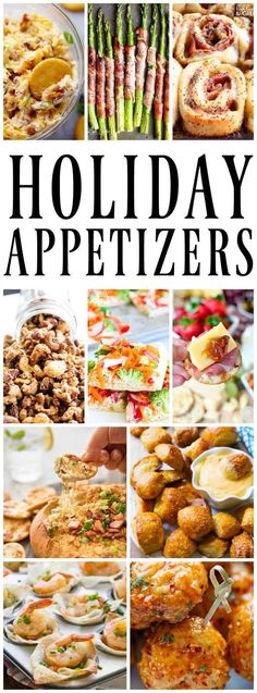 50 of the Best Appetizers for the Holidays that will impress your guests. Everything from easy to elegant we have you covered.